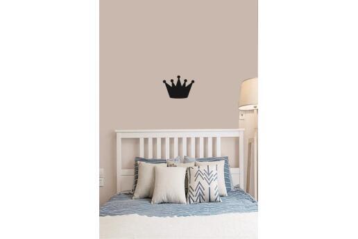 Bebek Çocuk Odası Duvar Koleksiyonu Kral Tacı Siyah
