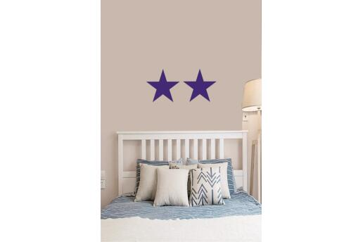 Bebek Çocuk Odası Duvar Koleksiyonu Mavi Yıldız