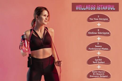 Wellness İstanbul Psikoloji & Sağlıklı Yaşam Merkezi'nden 2 Seans Online, 2 Seans Yüz Yüze Diyetisyen Görüşmesi + 2 Seans Fonksiyonel Pilates Dersi