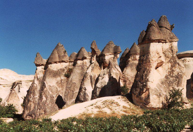 Kapadokya Da Peribacalari Arasinda At Turu Firsat Bu Firsat