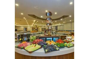 Bekdaş Hotel'de Güne Güzel ve Zinde Başlayın Diye 100 Çeşit Taptaze Açık Büfe Kahvaltı veya Serpme Kahvaltı