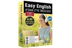 Easy English A'dan Z'ye İngilizce Seti + 6 Ay Online İngilizce Kursu