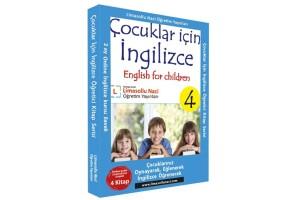 Çocuklar İçin İngilizce Kitap Serisi + 2 Ay Online İngilizce Kursu