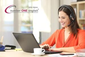 Number One English ile 1 Dakikada İngilizce 1 Yıl Süreli 100 Saat Online Eğitim