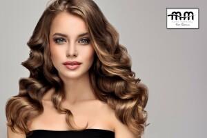M & M Saç Tasarım'da Kesim, Bakım ve Boya Uygulamaları