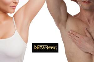 New Rose Beauty Clinic'te Kadın & Erkekler İçin 8 Seans İstenmeyen Tüy Uygulaması