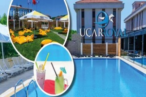 Şile Uçar Royal Hotel'de Havuz Girişi ve İndirimli Yiyecek & İçecek