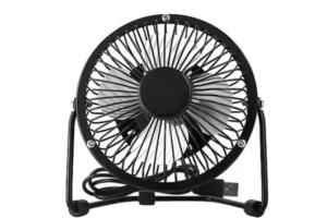 Masaüstü Metal Mini Fan Vantilatör (Usb Girişli)