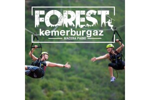 Türkiye'nin En Büyük Açık Alana Sahip Macera & Etkinlik Parkı Forest Kemerburgaz'a Giriş Bileti