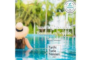 Tarihi Tuzla Tesisleri Havuz Fırsatı
