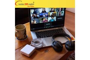 Number One English Online İngilizce Eğitim (365 Gün Geçerli 100 Saat Ders + 150 DK Canlı İngilizce Konuşma ve Destek Seansı)