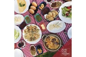 Tarihi Tuzla Tesisleri'nde Serpme Kahvaltı