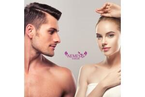 Nemesis Güzellik'te Kadın ve Erkeklere Özel 1 Yıl Sınırsız İstenmeyen Tüy Uygulaması
