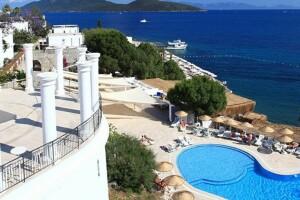 5 Yıldızlı Denize Sıfır Bodrum Bay Resort Hotel'de Her Şey Dahil Konseptli ve Ulaşım Dahil Tatil