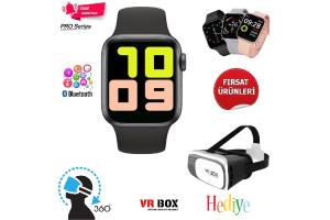 T500 Smart Watch Full Seri Akıllı Saat Arama Aktivite (Hediyeli)