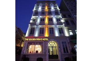 The Golden Pera's Hotel'de Konfor Dolu Konaklama Seçenekleri