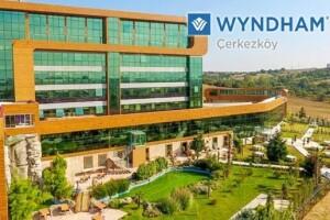 Wyndham Çerkezköy Hotel'de Açık Büfe Kahvaltı Dahil 2 Gece Konaklamalı Çift Kişilik Tatil