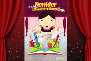 Tiyatro Lika'dan 'Renkler Ülkesinin Hikayesi' Adlı Çocuk Tiyatro Oyununa Bilet