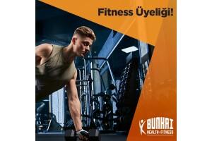 Şişli Bunkai Health Fitness'tan Sağlıklı ve Fit Bir Vücuda Ulaşmak İsteyenler İçin 1 Aylık Gündüz Fitness Üyeliği