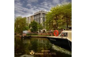 Eskişehir Porsuk Çayı Manzaralı Senna City Hotel'de 1, 2 veya 3 Kişilik Kahvaltı Dahil Konaklama Seçenekleri