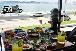 Üsküdar Cafe 5. Cadde'den Güne Bomba Gibi Bir Giriş Yapmanızı Sağlayacak Serpme Kahvaltı Menüsü
