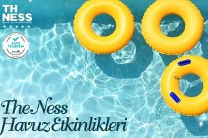 5 Yıldızlı The Ness Termal Hotel'de Tüm Gün Açık Havuz Kullanımı