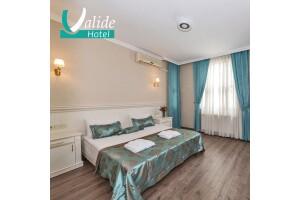 Osmanbey Valide Hotel'in İhtişamlı Atmosferinde Çift Kişilik Konaklama Keyfi