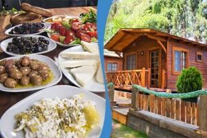 İznik Askania'nın Doğayla İç İçe Huzur Dolu Ambiyansında Limitsiz Çay ve Kuş Cıvıltıları Eşliğinde Kişi Başı Kahvaltı Menüsü
