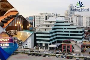 Beylikdüzü'nün Merkezi Sarissa Hotel'de Çift Kişilik Konaklama ve Açık Büfe Kahvaltı