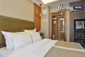 Harbiye Blueway Hotel City'de Şehrin Göbeğinde Çift Kişilik Konaklama Keyfi