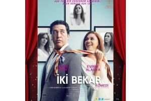 Emre Kınay ve Evrim Alasya'nın Başrol Oynadığı 'İki Bekar' Adlı Tiyatro Oyununa Bilet