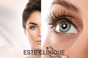 Este Clinique Güzellik Merkezi'nden İpek Kirpik ve Kaş Kontürü Uygulamaları