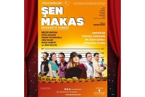 Nurseli İdiz, Veysel Diker, Ebru Saçar, Cem Güler, Özgür Yetkinoğlu ve Jess Molho'nun Sahnelediği 'Şen Makas' Adlı Oyuna Tiyatro Bileti