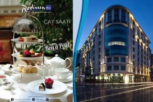 Radisson Blu Hotel Şişli'de Keyif Dolu Çay Saati Menüsü