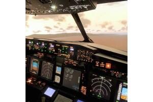 Galleria AVM DreamFlight'ta Profesyonel Uçak Simülatöründe 30 ve 60 Dakikalık Uçuş Deneyimi
