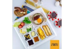 Ahlatlıbel Zabu Cafe'de Göl Manzaralı Doğa İçinde Kahvaltı Keyfi