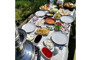 Polonezköy Mimoza Park Restaurant'tan Lezzetine Doyamayacağınız Organik Serpme Köy Kahvaltısı