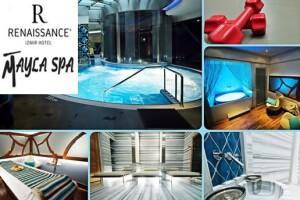 Mayla Spa Renaissance İzmir Hotel'den Yüz Bakımı, Bölgesel Masaj veya Kese-Köpük Masaj Uygulaması