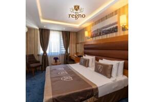 Regno Hotel Şişli'de Kahvaltı Dahil Tek veya Çift Kişilik Konaklama Keyfi