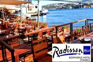 Ortaköy Radisson Blu Bosphorus Hotel'de Boğaza Nazır Çay Saati Menüsü