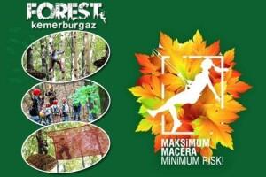 Türkiye'nin En Büyük Açık Alana Sahip Macera & Etkinlik Parkı Forest Kemerburgaz'a Hafta İçi Giriş
