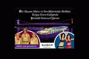 Bosphorus Organization'dan Açık Büfe Limitsiz İstanbul Geceleri