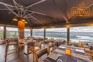 Terrace Suites Türkçe Meze'de Haliç Manzaralı Zengin Açık Büfe Kahvaltı