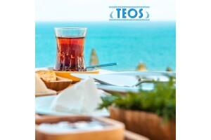 Kınalıada Teos Beach Club'ten Sınırsız Çay Eşliğinde Şömine Karşısında Serpme Kahvaltı Keyfi