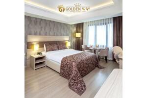 Hotel Golden Way'in Standart Odalarında Tek veya Çift Kişilik Konfor Dolu Konaklama Seçenekleri
