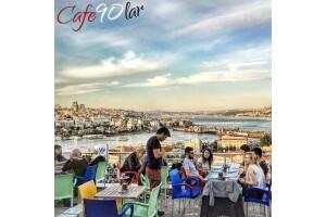 Cafe 90'lar Süleymaniye'de Muhteşem Manzara Eşliğinde Leziz Mi Leziz Çift Kişilik Kahvaltı Sofrası