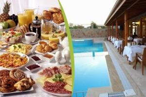 Ağva Günay Hotel'den Sınırsız Çay Eşliğinde Serpme veya Açık Büfe Köy Kahvaltısı