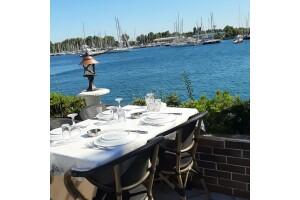 Kalamış Paysage Restaurant'tan Muhteşem Manzaraya Nazır Kurulan Sofralarda Kişi Başı Serpme Kahvaltı Keyfi