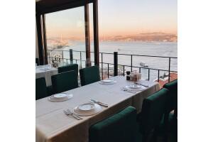 Taksim MaAile Restoran'da Boğaz Manzarası Eşliğinde Kahvaltı Menüleri