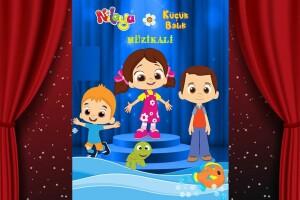 Eğlence Dolu 'Niloya Küçük Balık Müzikali' Çocuk Tiyatro Oyunu Bileti